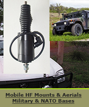NATO and miltary mobile HF antenna bases